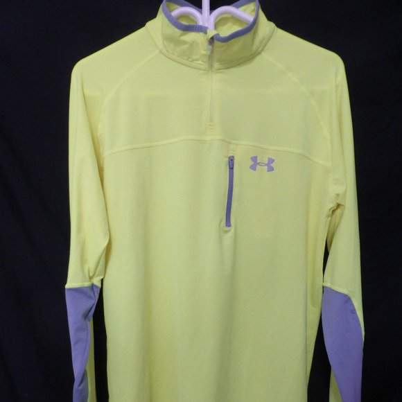 UNDER ARMOUR RUN, men's running shirt, medium